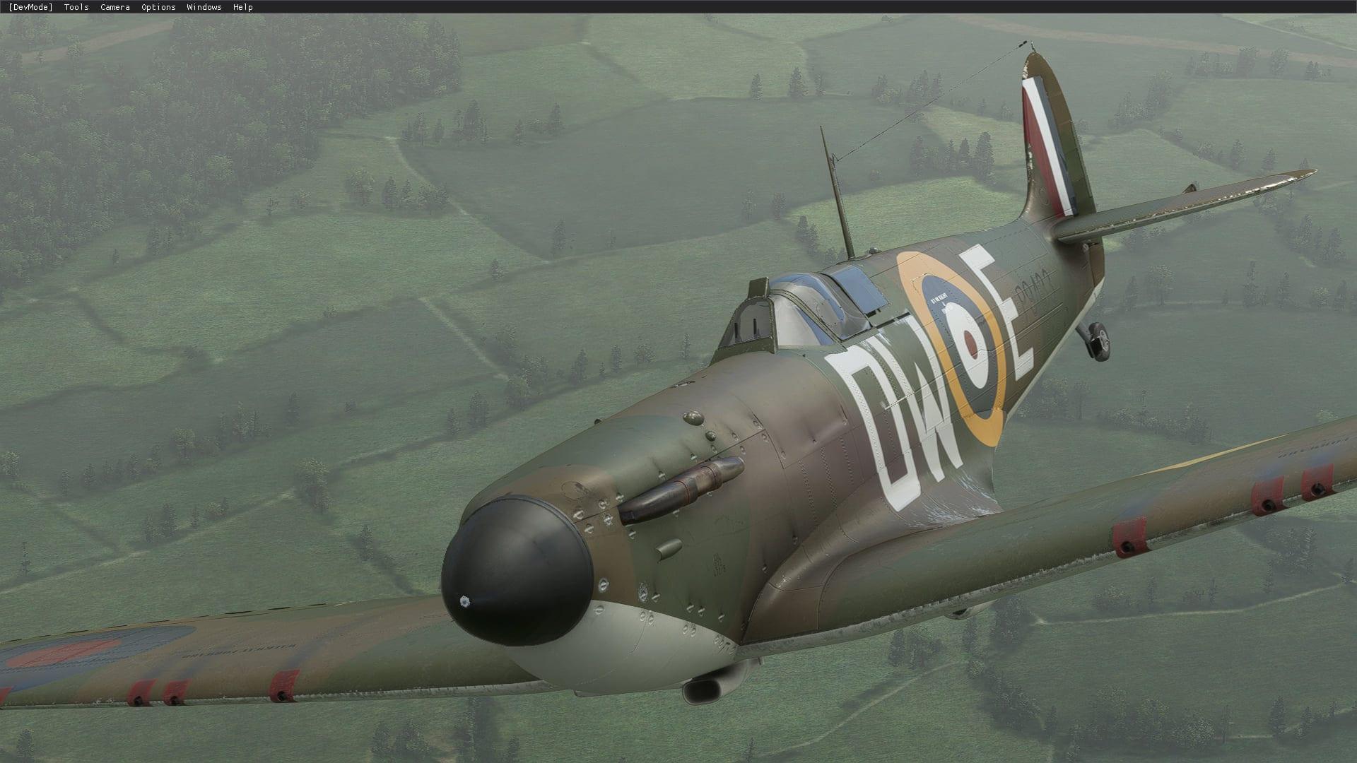 Microsoft Flight Simulator Spitfire