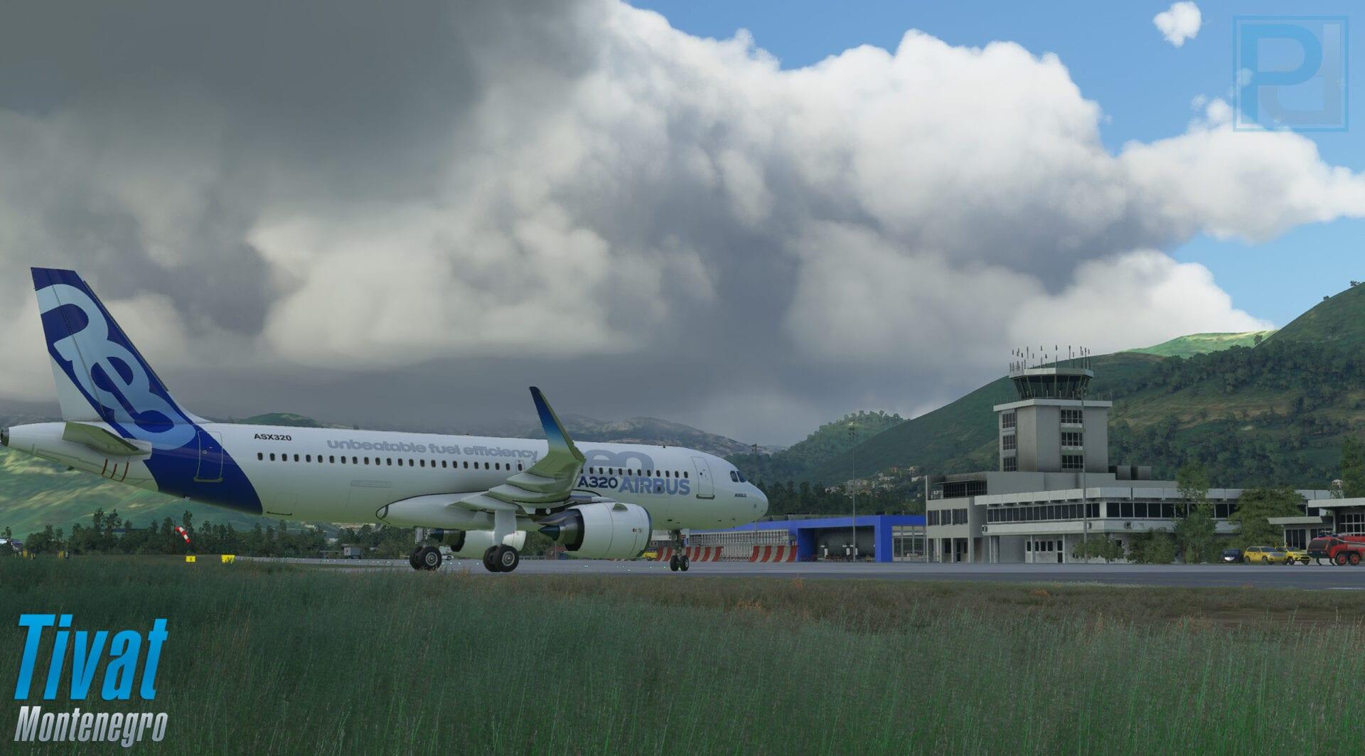 Microsoft Flight Simulator Tivat