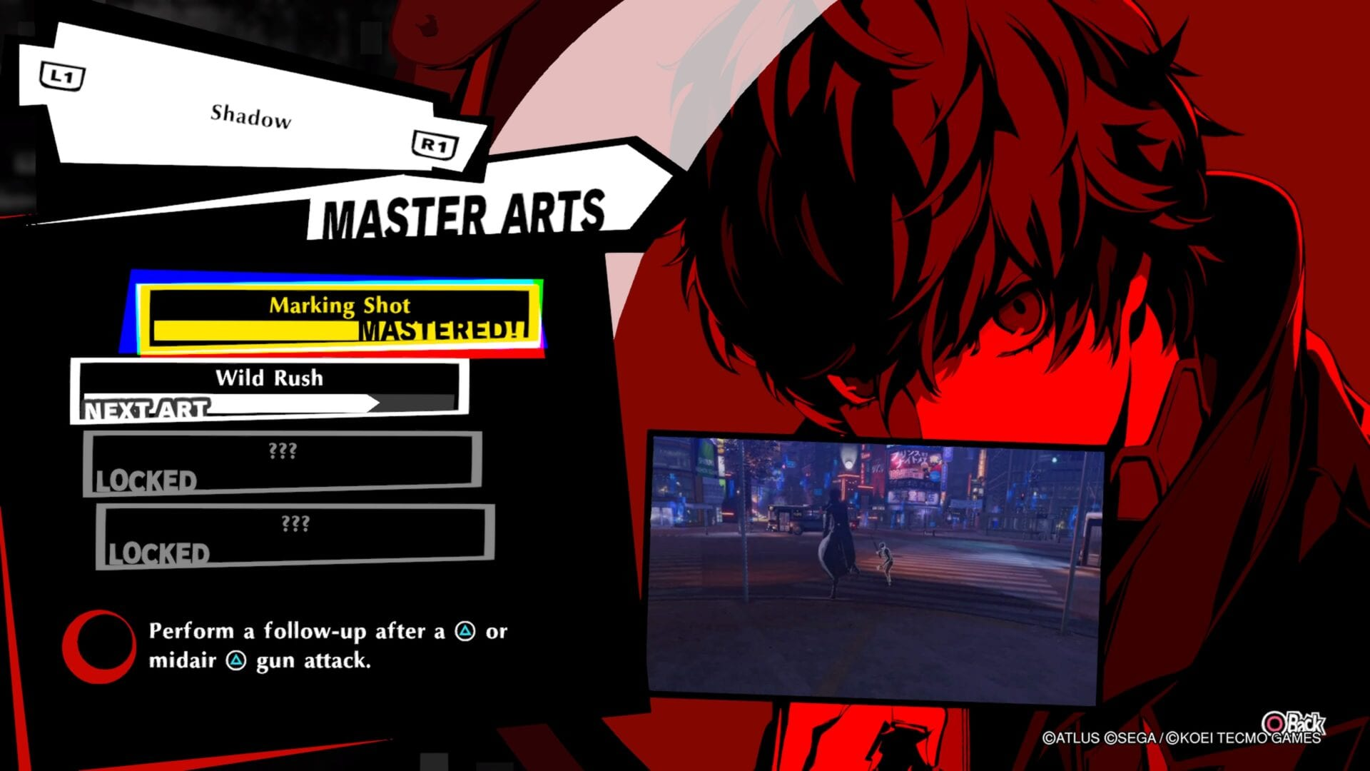 Persona 5 Strikers, How to Unlock Master Arts