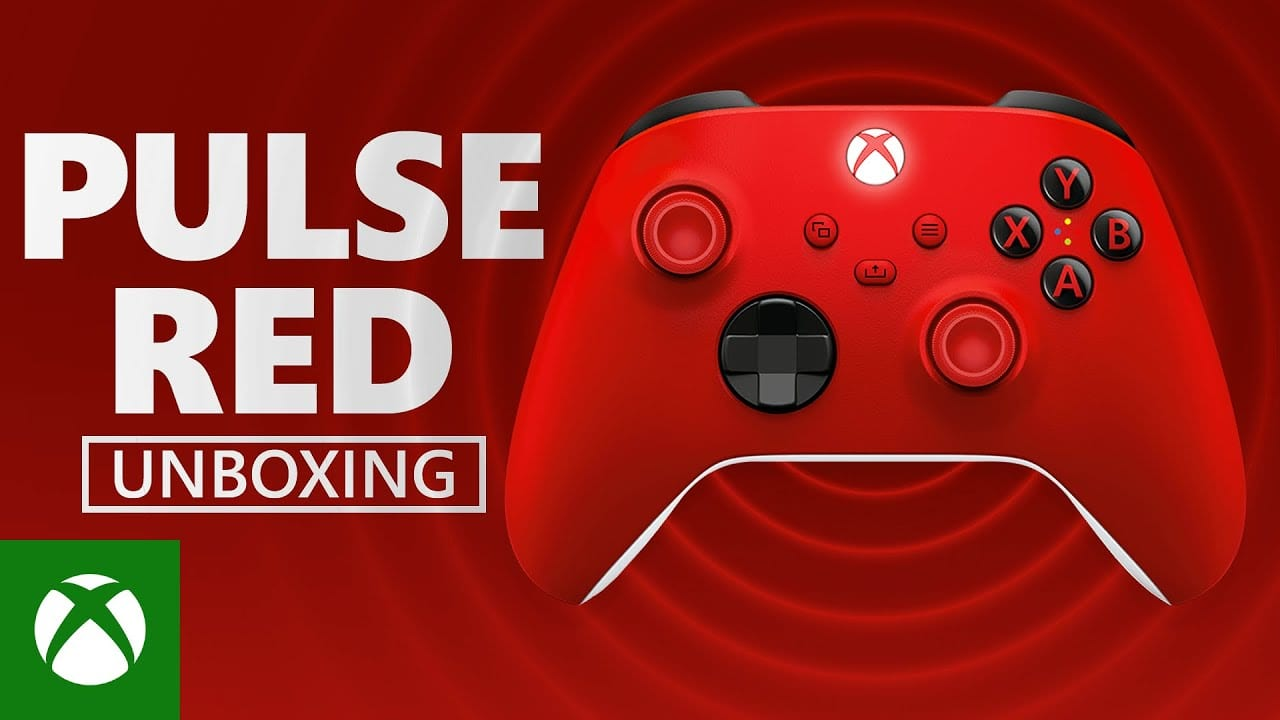 Xbox Pulse Red Controller