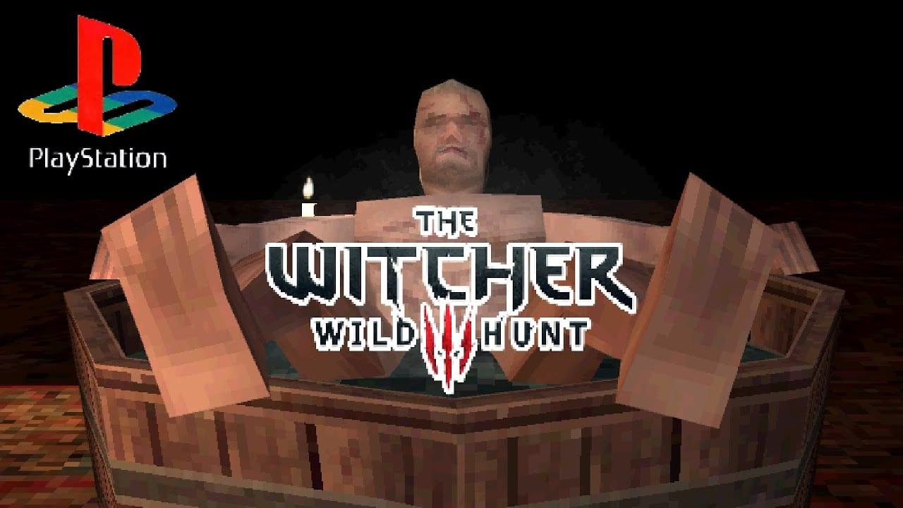 The Witcher 3 demake