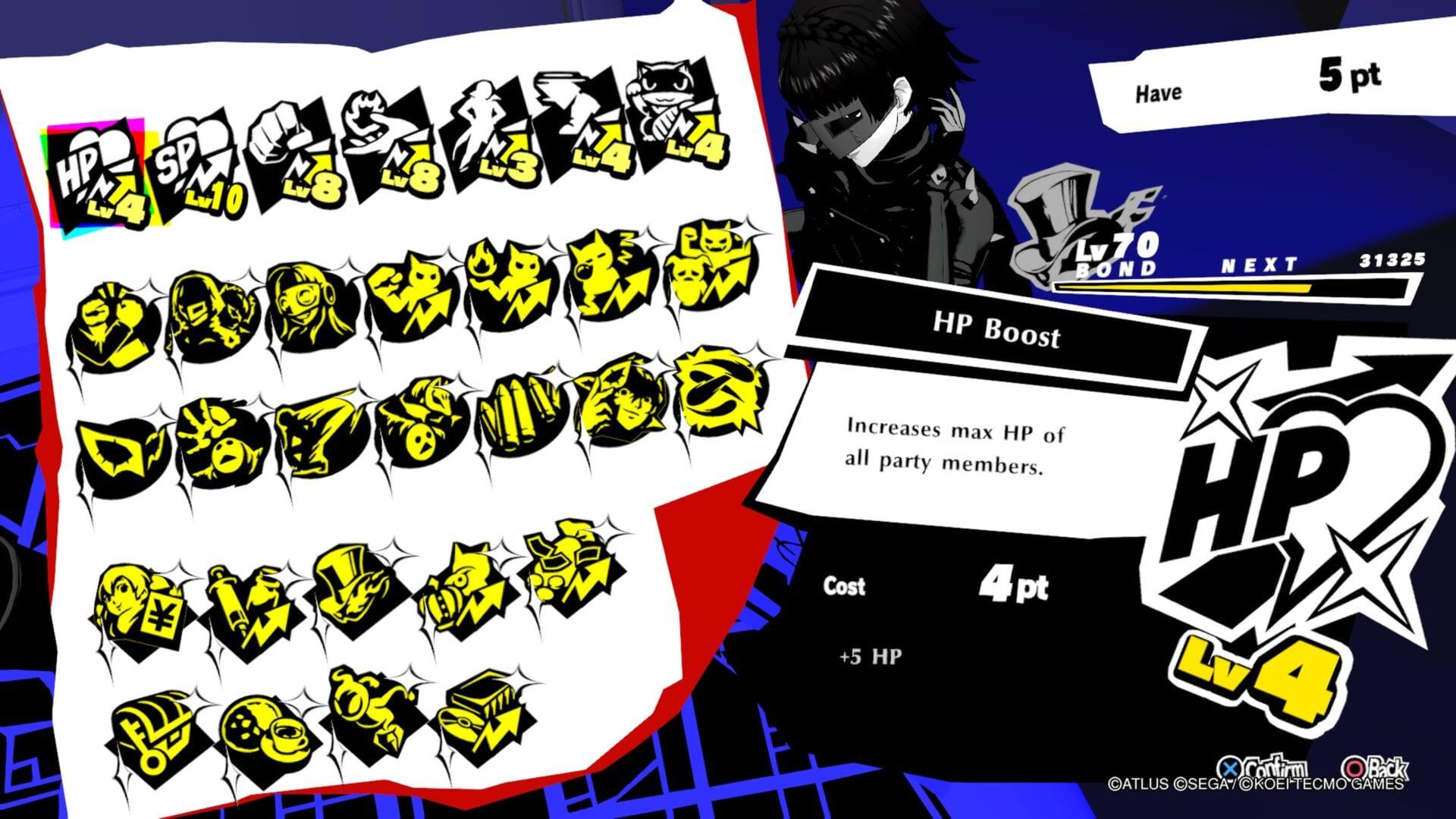 Persona 5 Strikers, Best Bond Abilities Guide