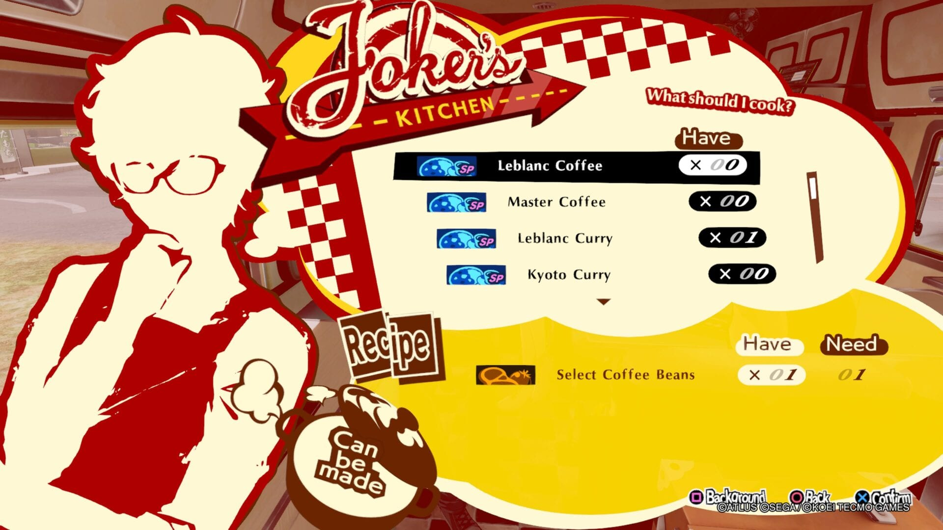 Persona 5 Strikers, All Cooking Recipe Locations