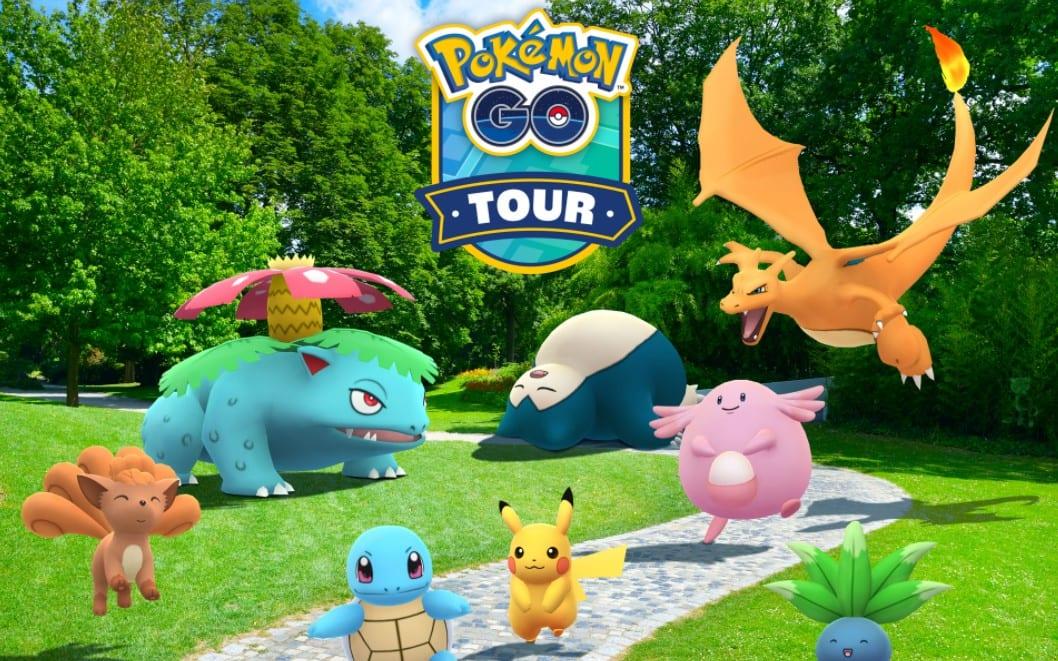 pokemon go tour