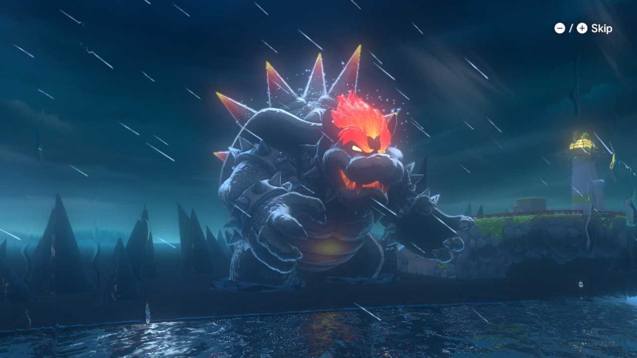 Bowsers Fury Cat Shines