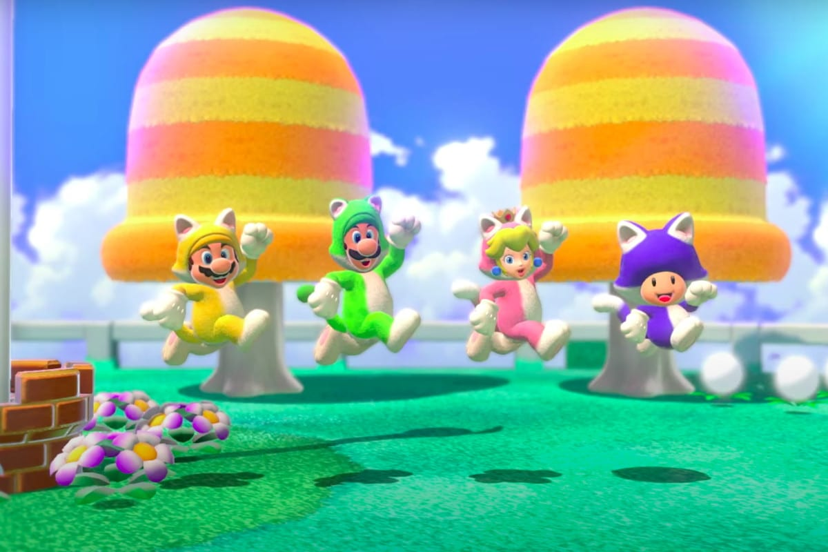super mario 3d world and bowser's fury co-op multiplayer