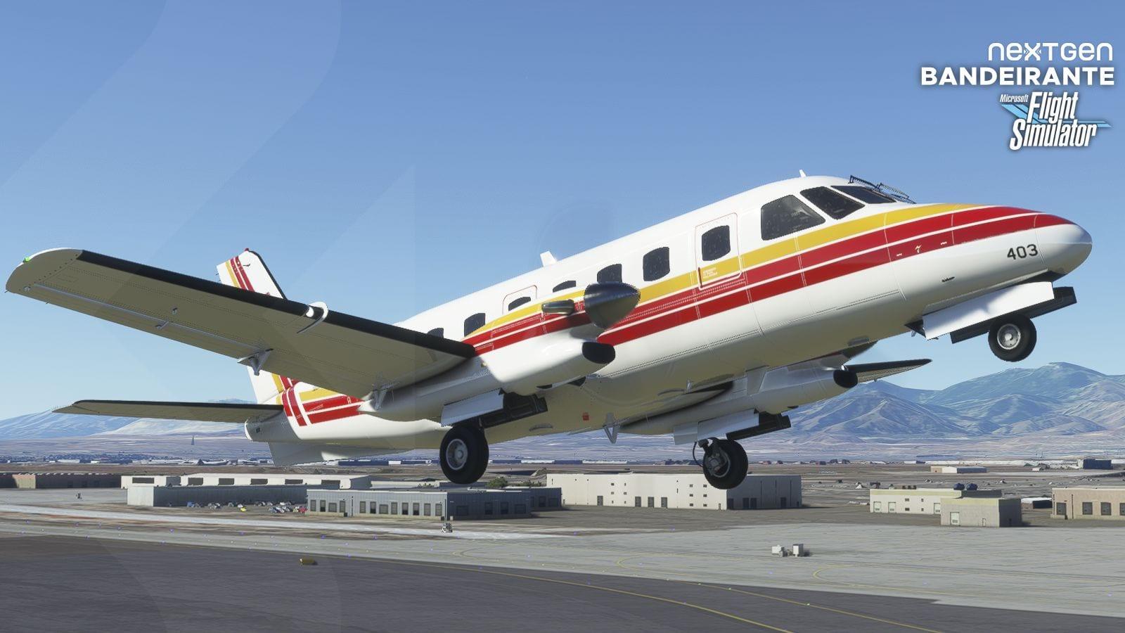 Microsoft Flight Simulator Embraer