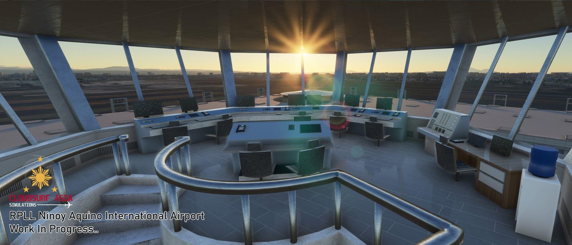 Microsoft Flight Simulator Manila