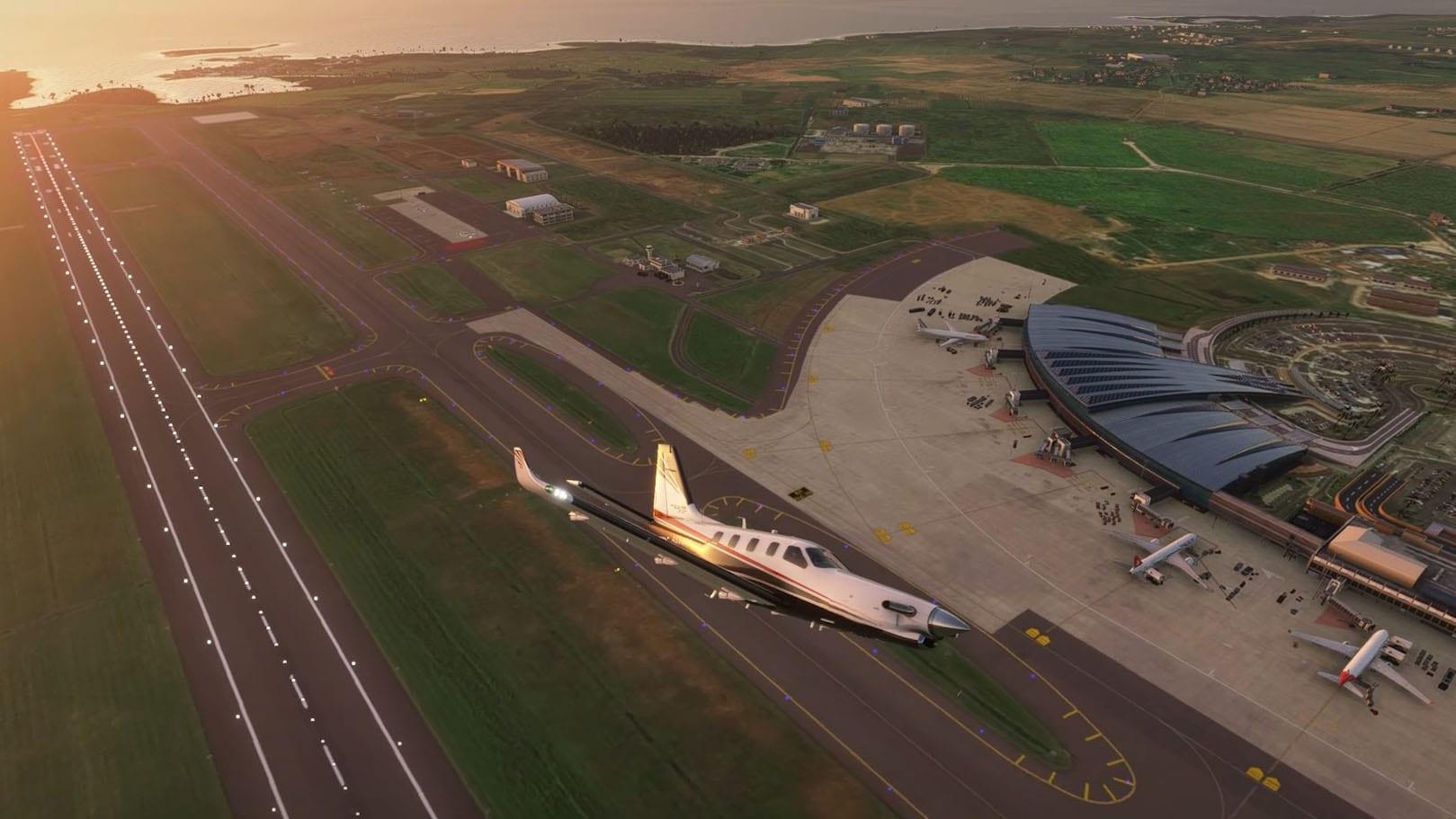 Microsoft Flight Simulator Mauritius