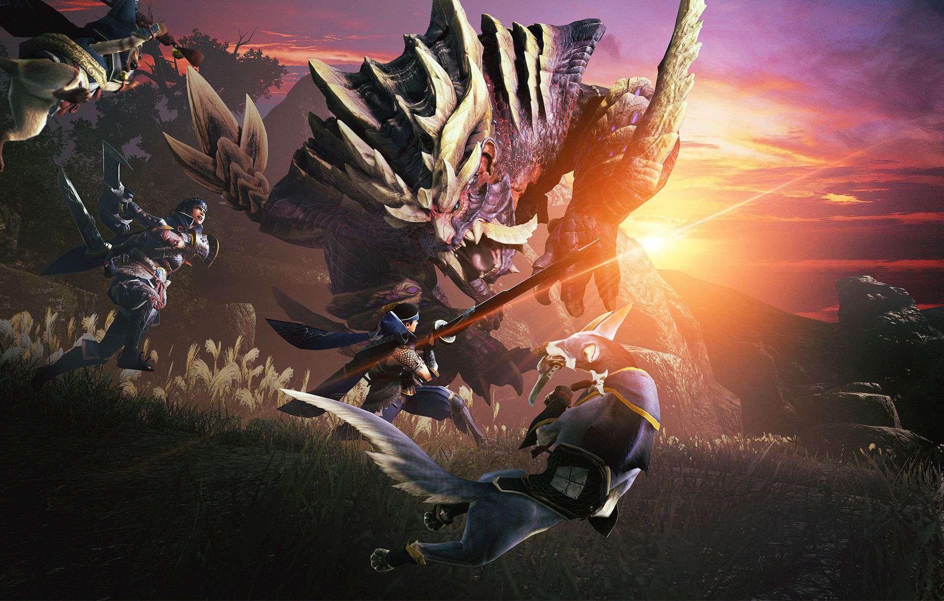 monster hunter rise lock-on enemies