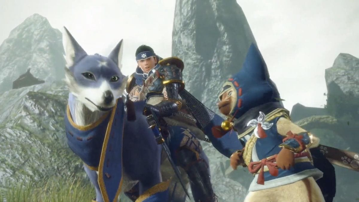 Monster Hunter Rise, How to Ride Your Palamute