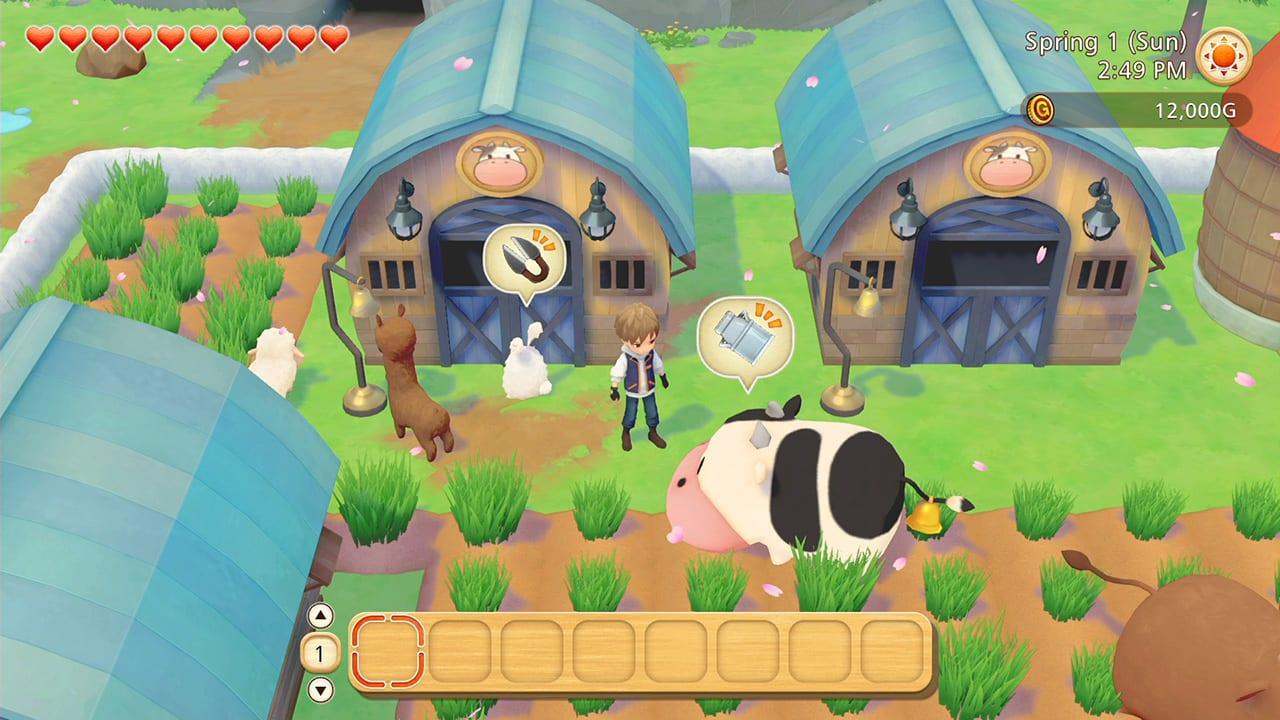 story of seasons pioneers of olive town sheep