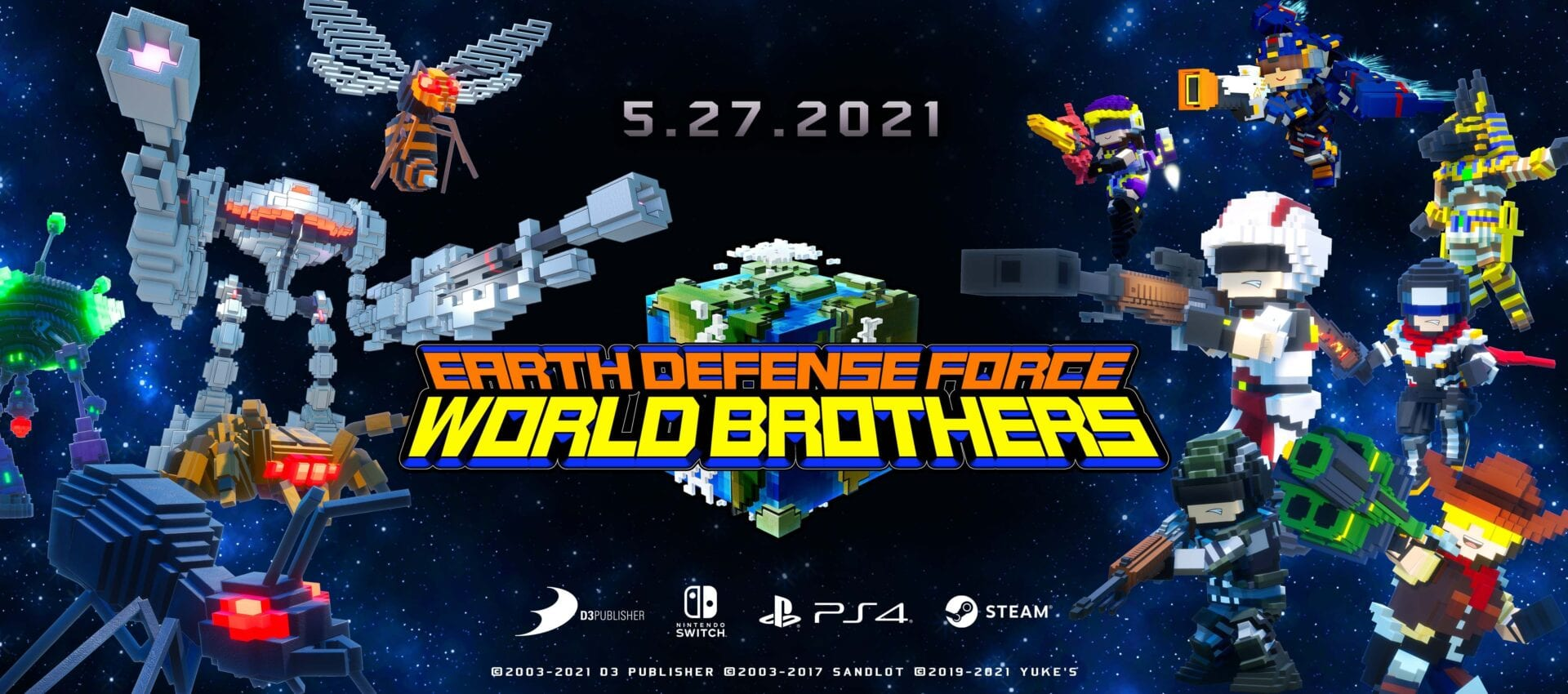 EARTH DEFENSE FORCE:WORLD BROTHERS