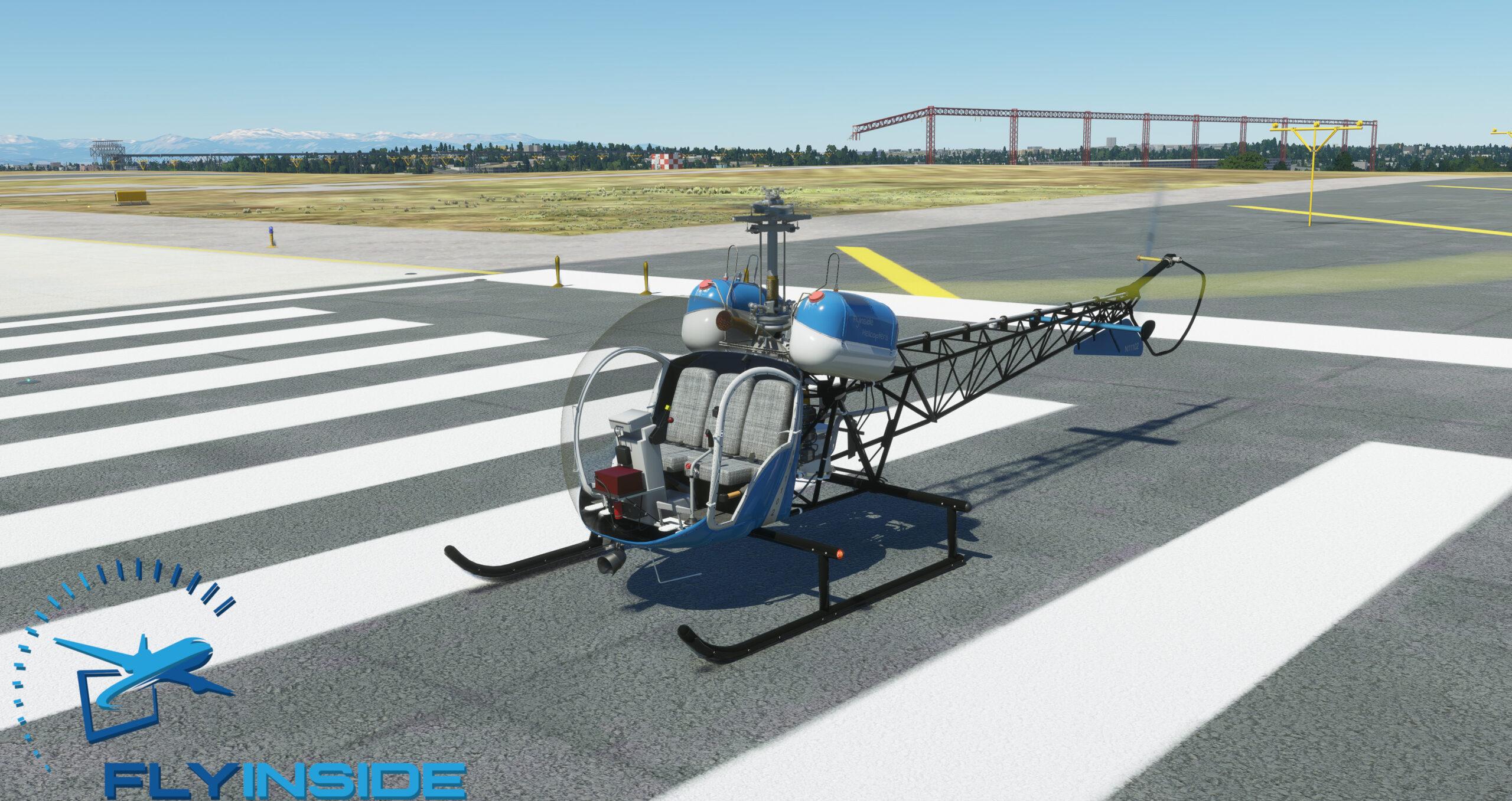 Microsoft Flight Simulator Bell