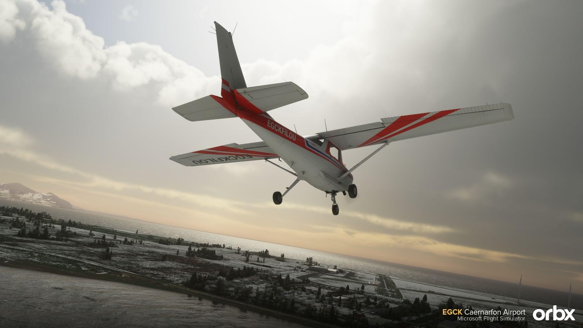 Microsoft Flight Simulator Caernafon