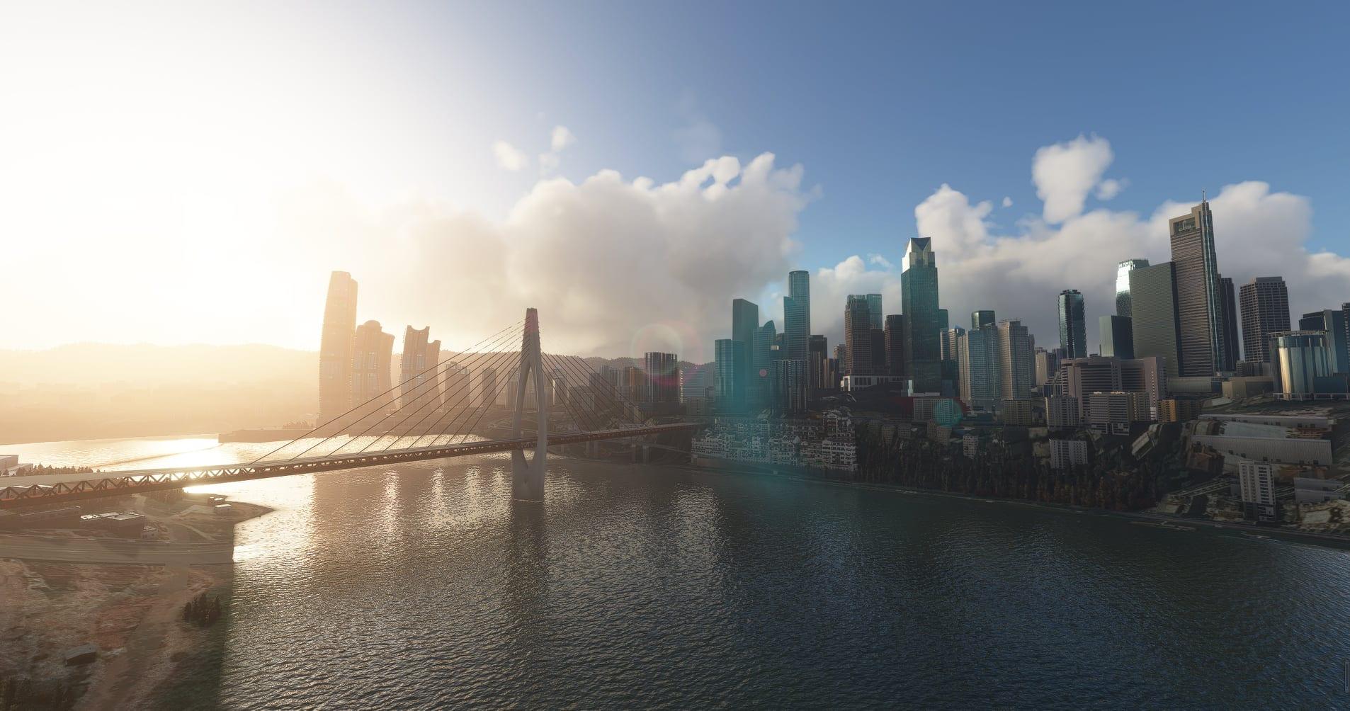 Microsoft Flight Simulator Chongqing