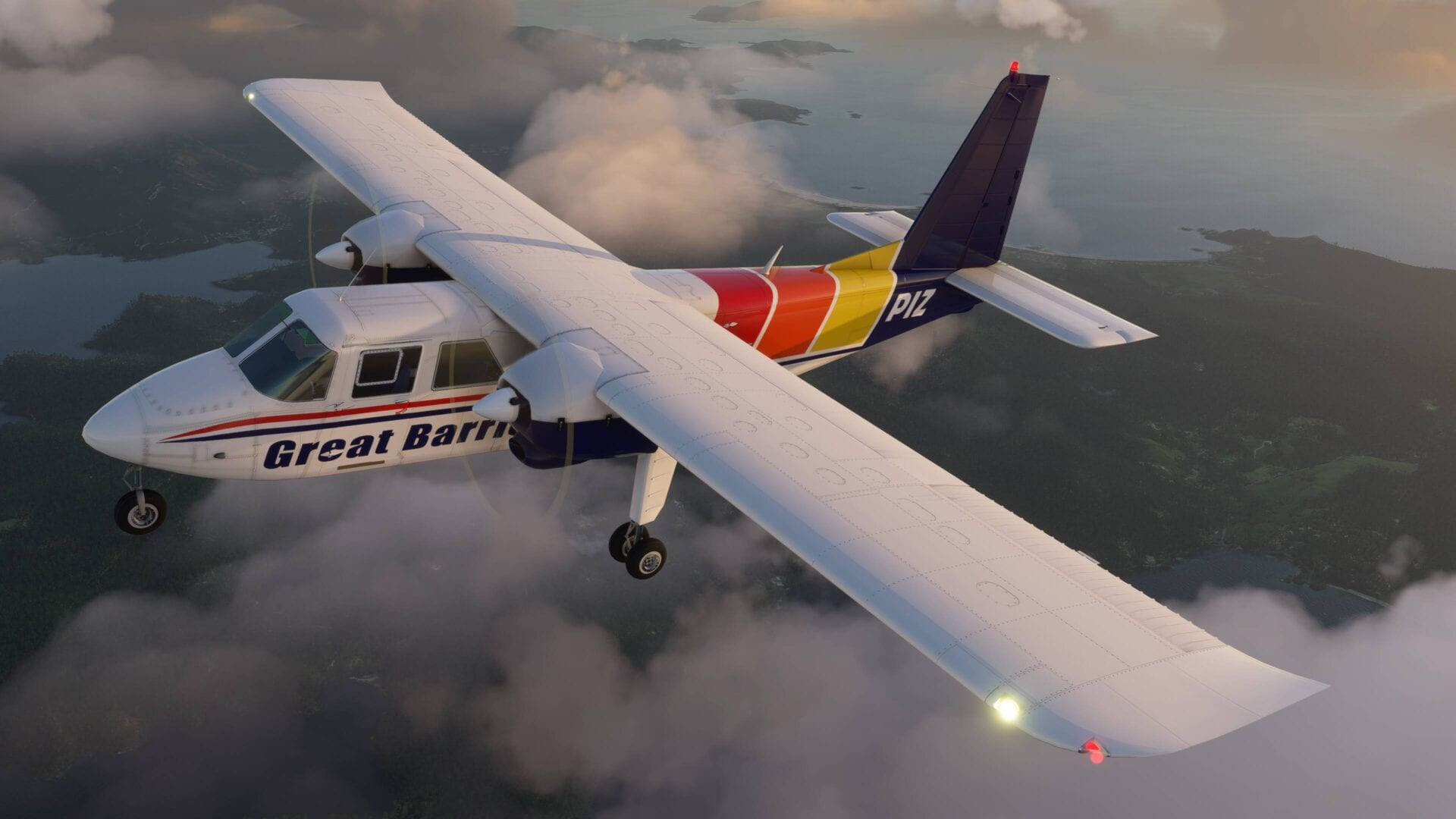 Microsoft Flight Simulator Islander