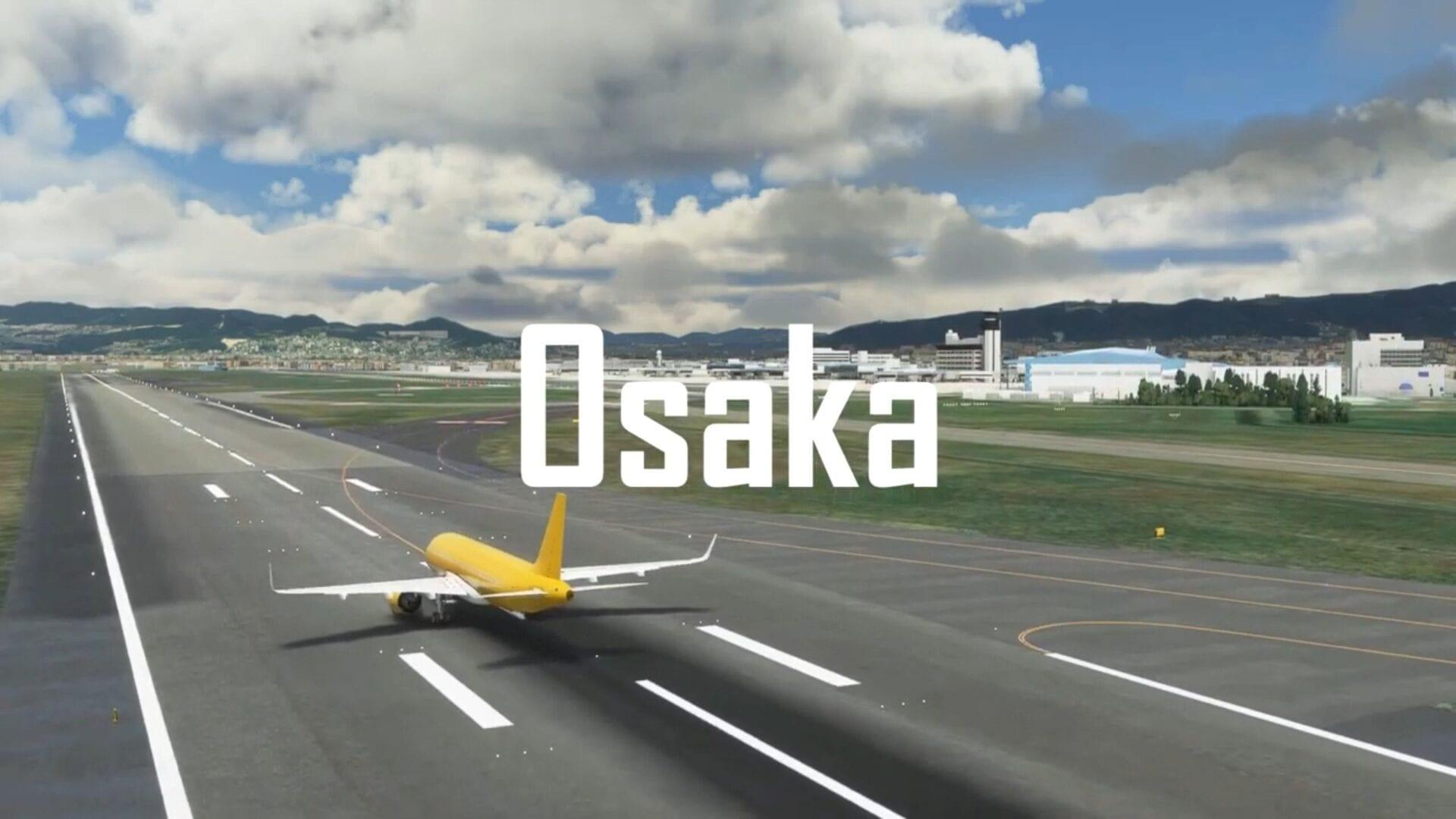 Microsoft Flight Simulator Osaka Itami Airport