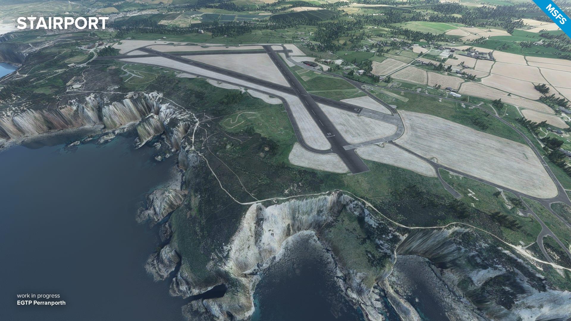 Microsoft Flight Simulator Perranporth
