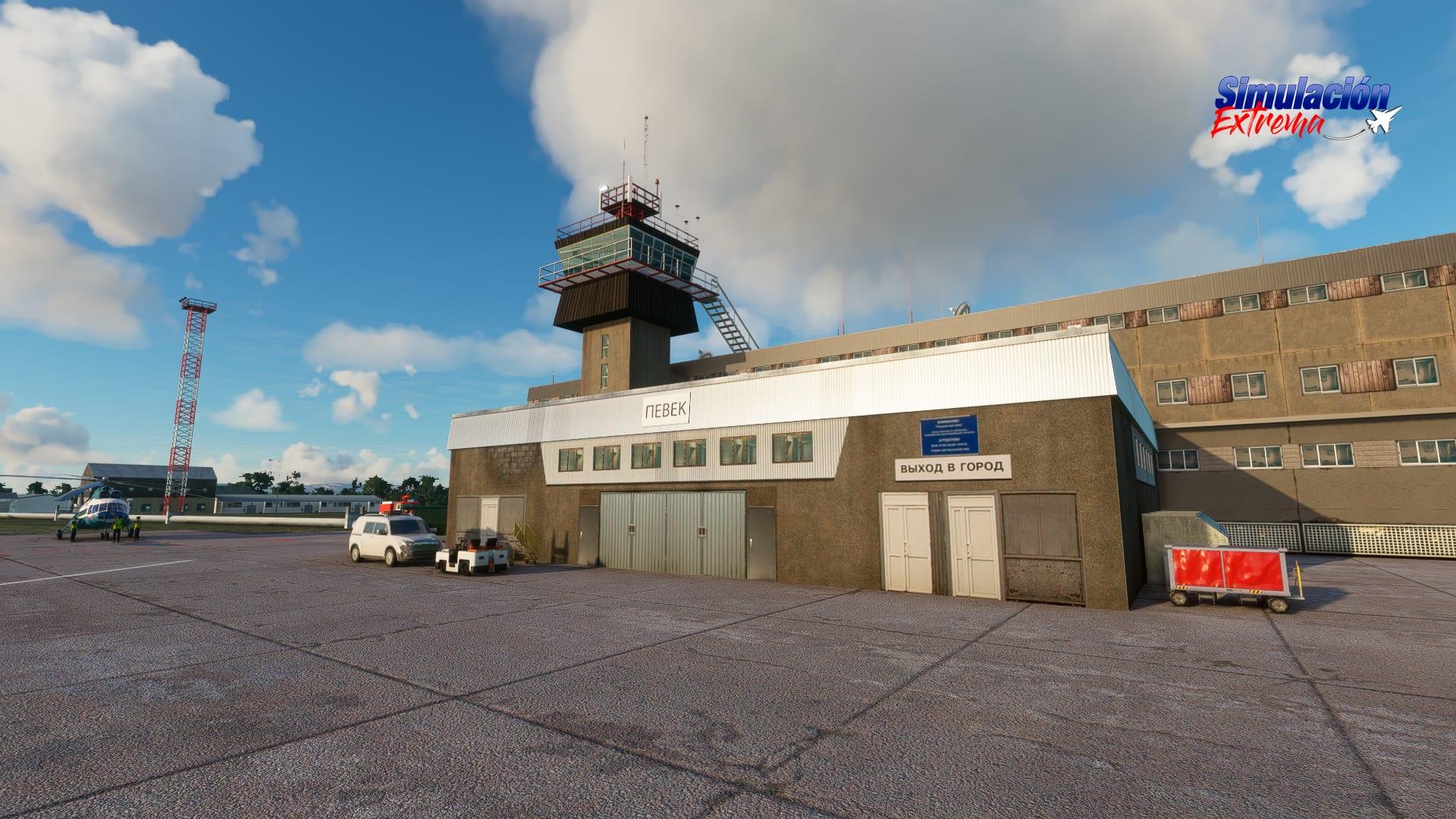 Microsoft Flight Simulator Pevek