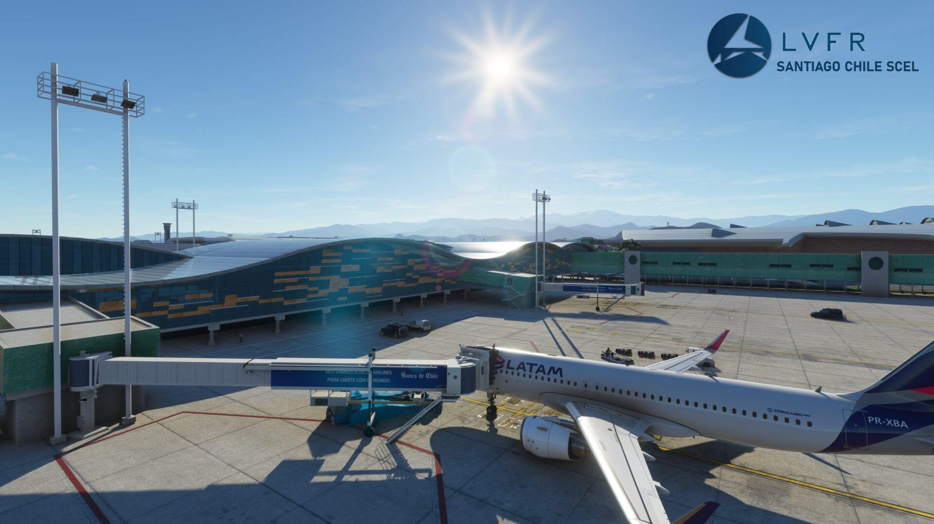 Microsoft Flight Simulator Santiago