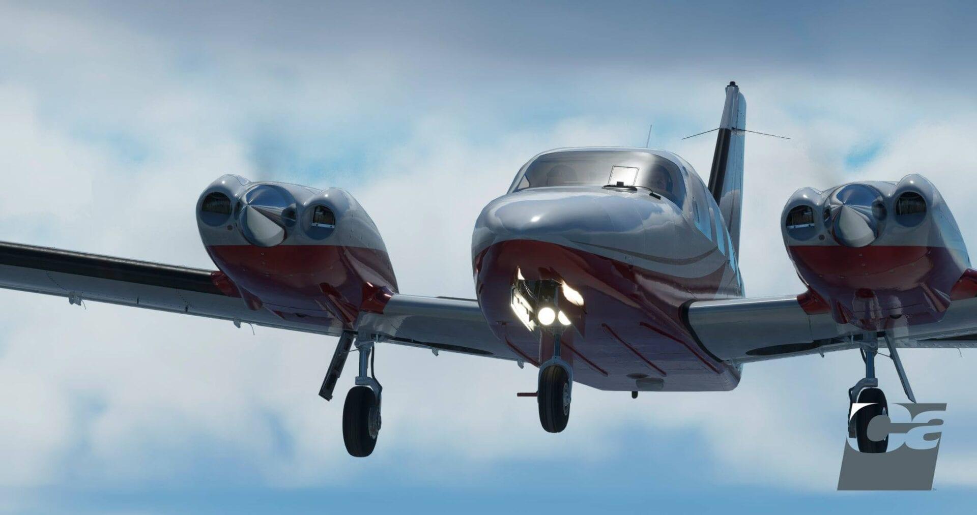 Microsoft Flight Simulator Seneca