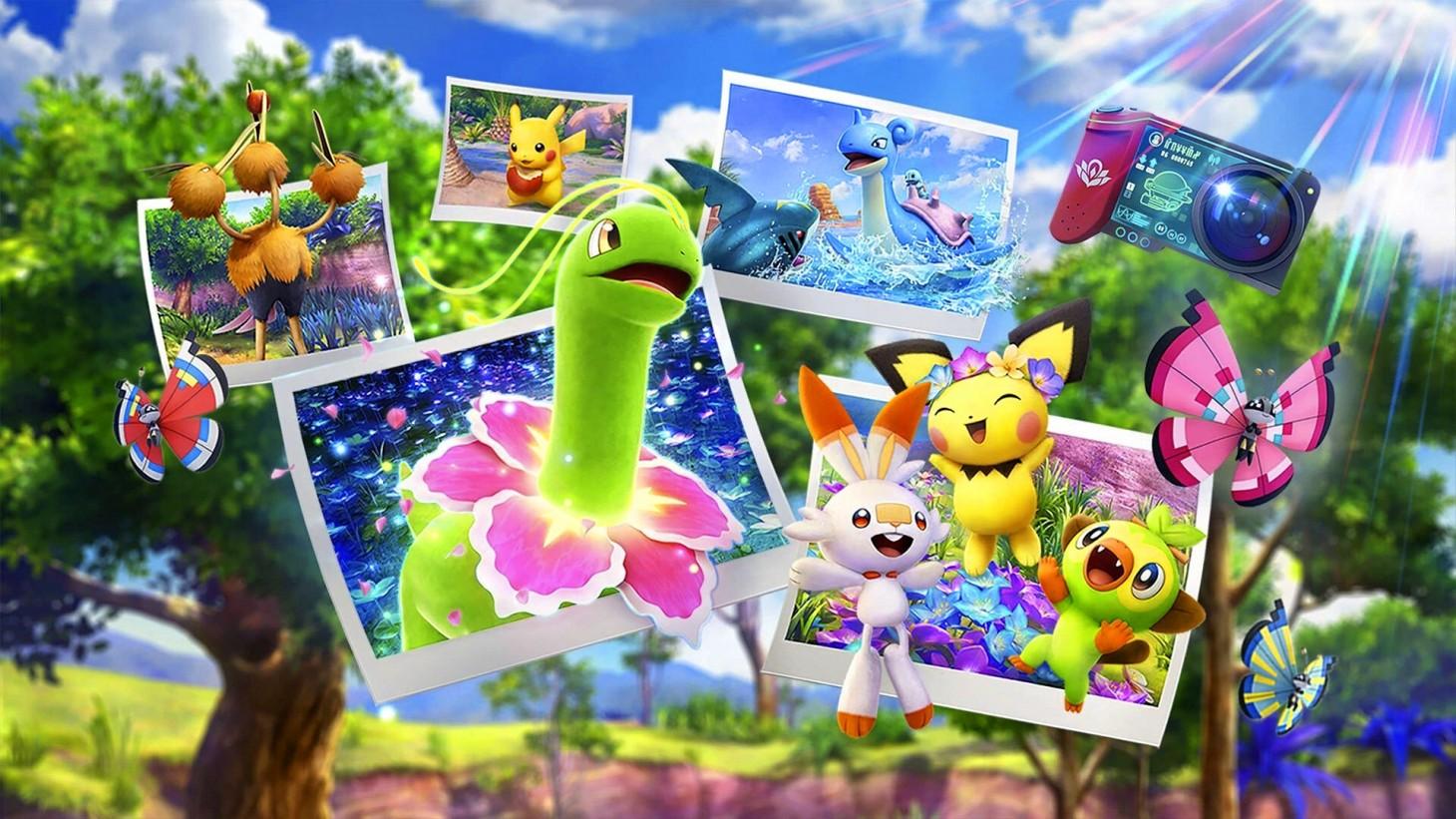 New Pokemon Snap Sandyghast