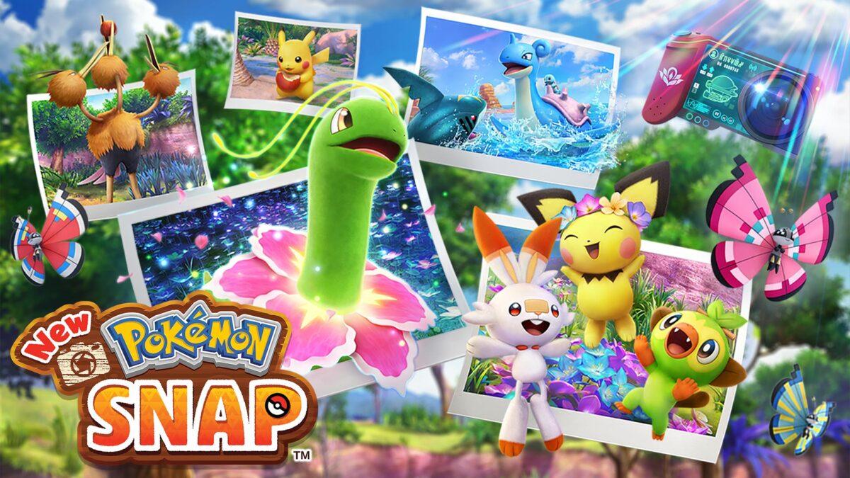 change seasons elsewhere forest, new pokemon snap