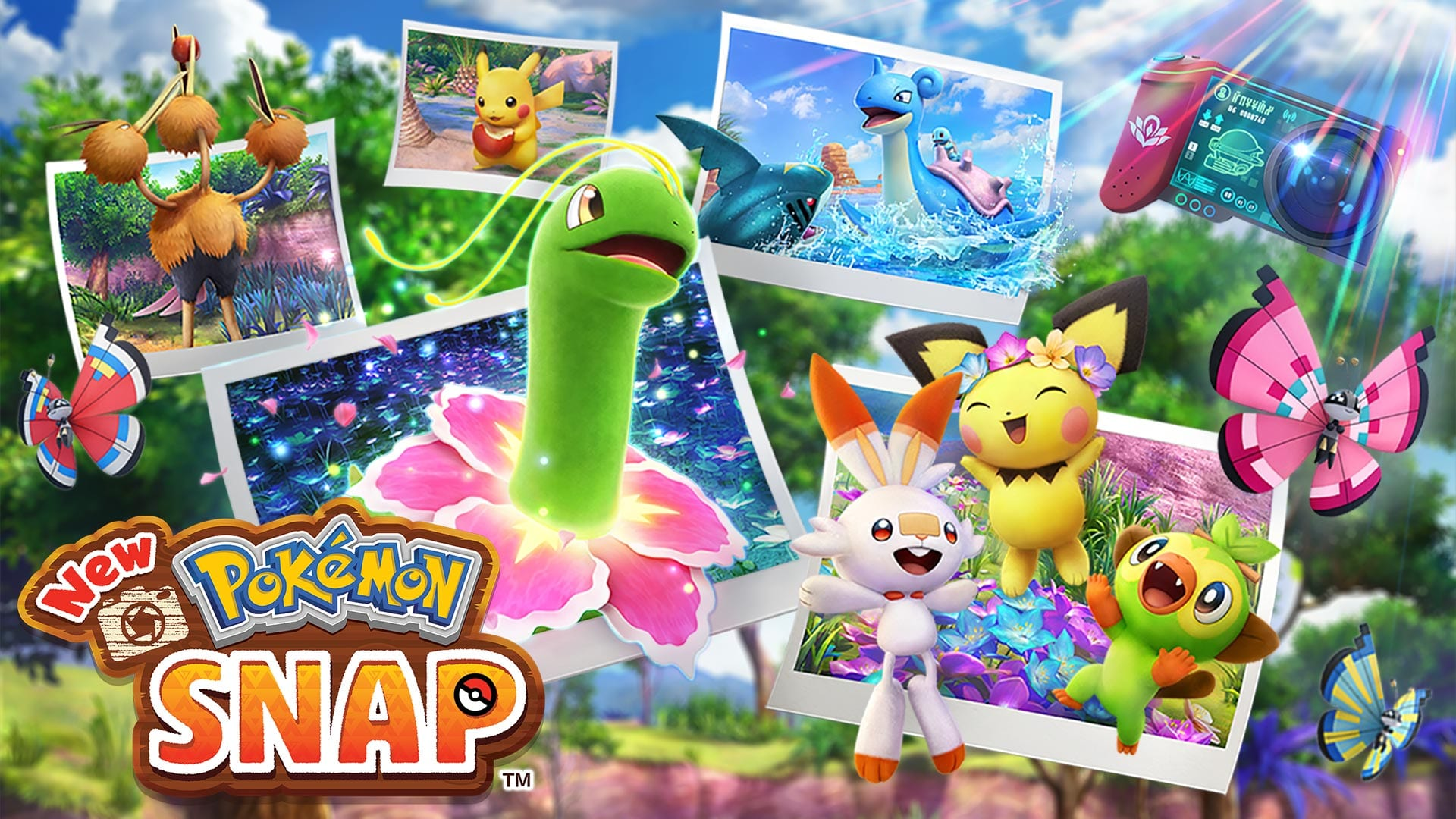 how to throw fluffruit, new pokemon snap