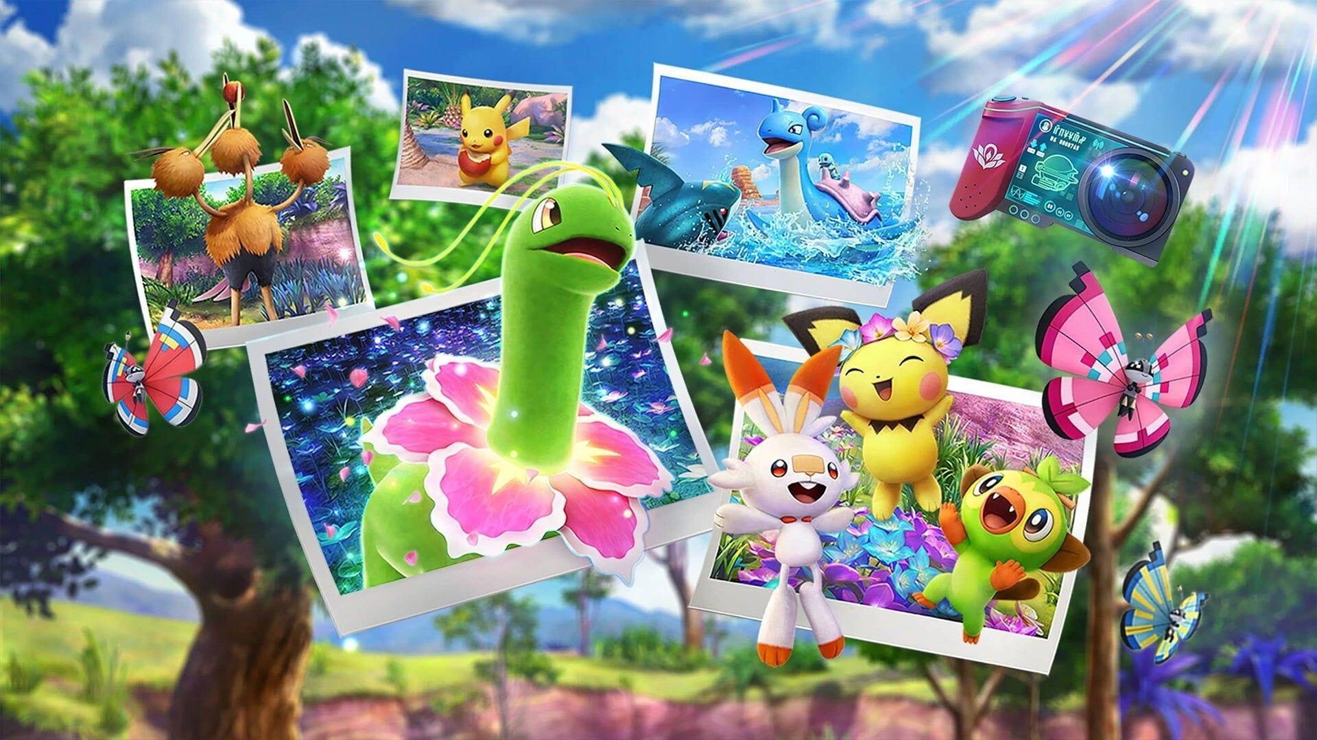 New Pokemon Snap How to Unlock Fireflow Volcano