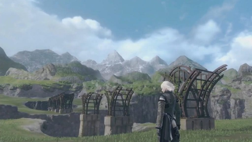 nier replicant lost shrine map