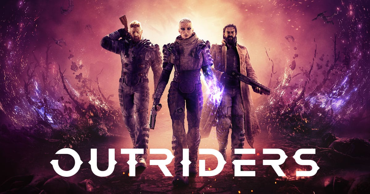 outriders xbox one x, ps4 pro, enhanced