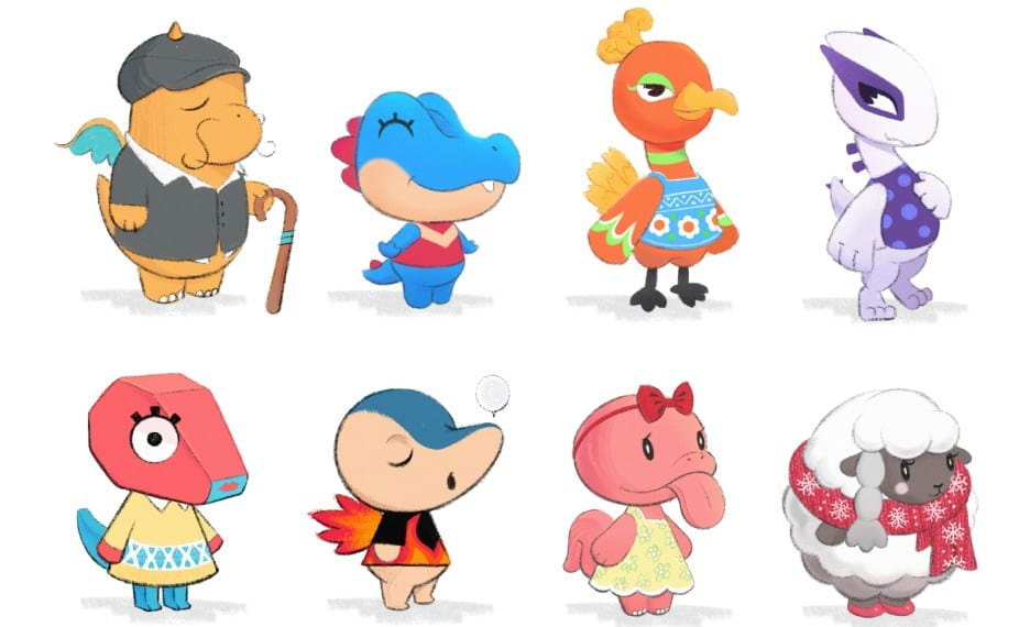 Animal Crossing Pokemon