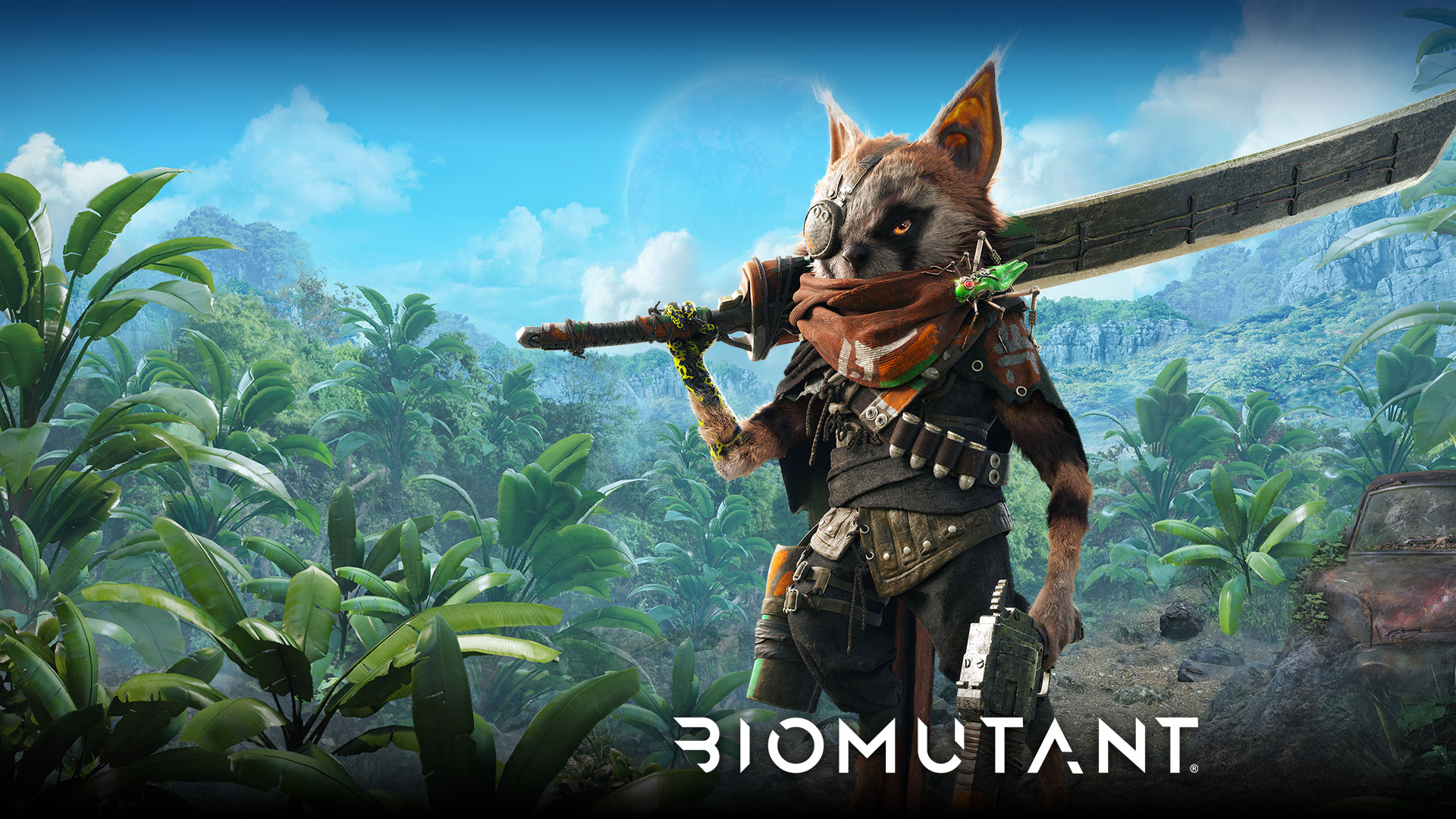 biomutant, how weapon add-ons work