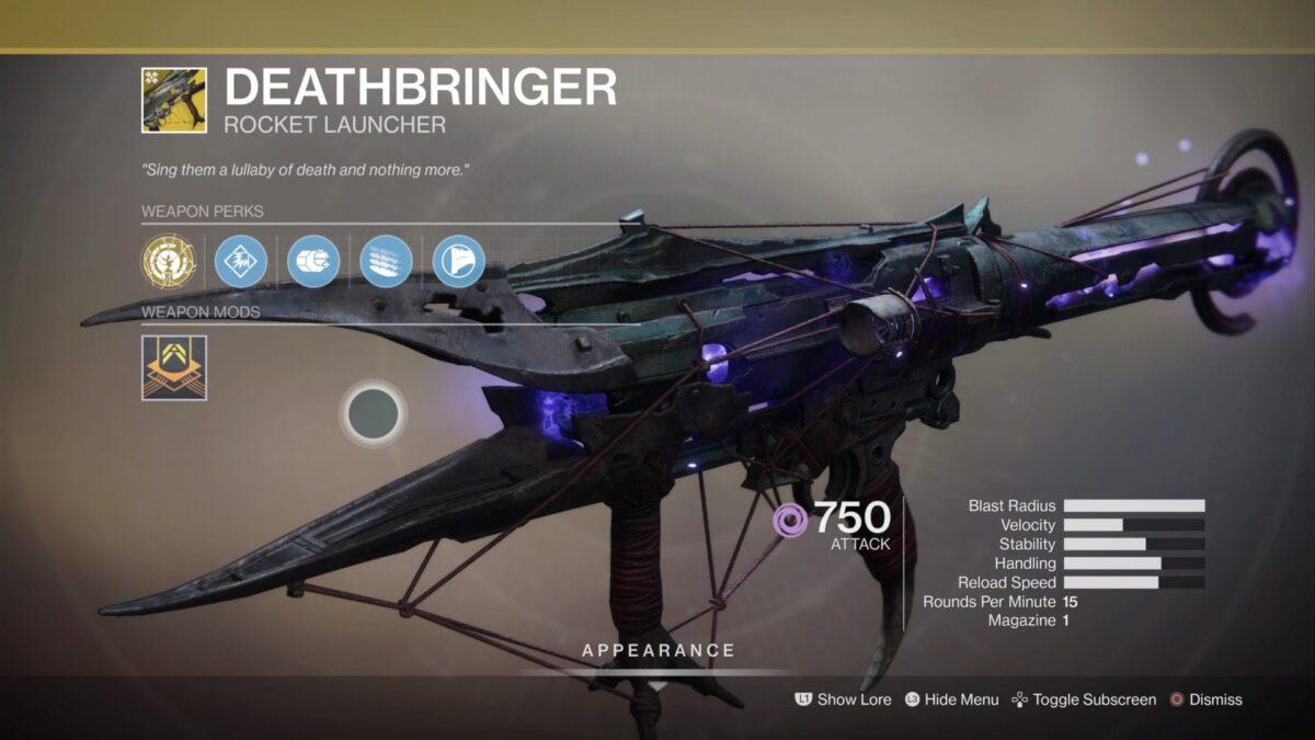 deathbringer catalyst