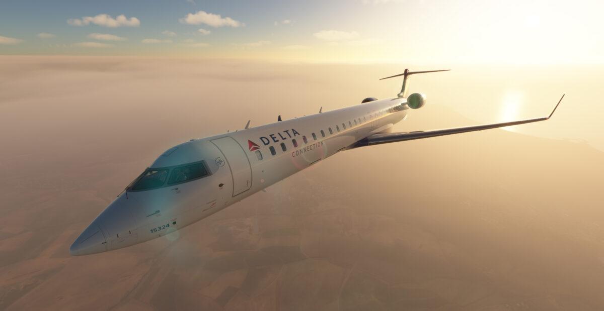 Microsoft Flight Simulator CRJ