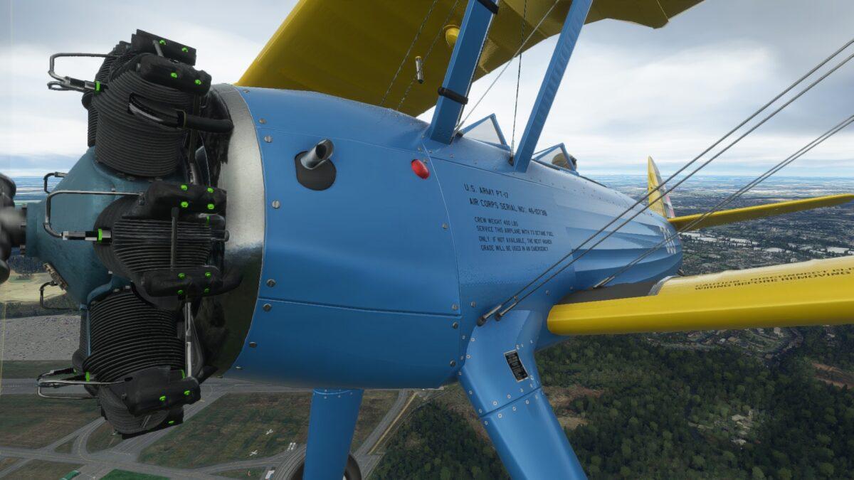 Microsoft Flight Simulator DC Design