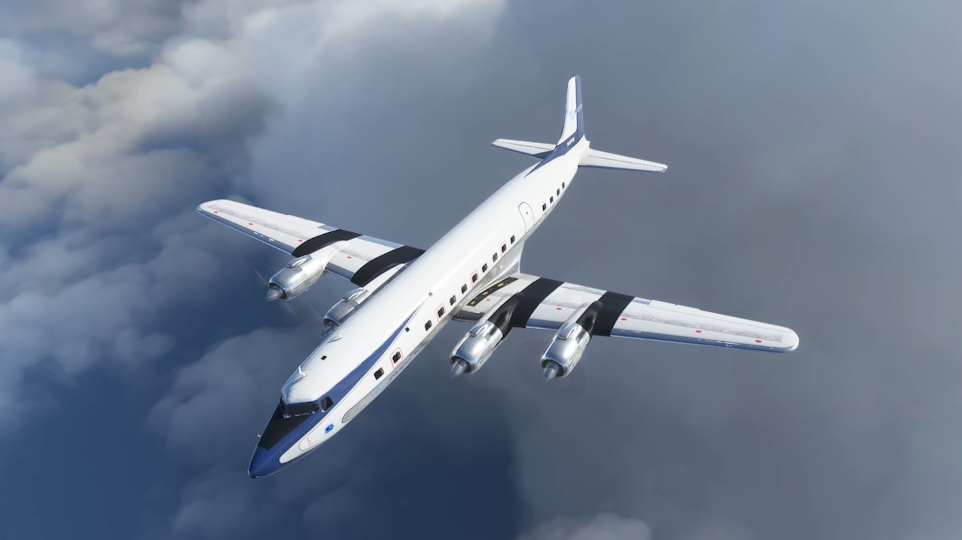 Microsoft Flight Simulator Dc6