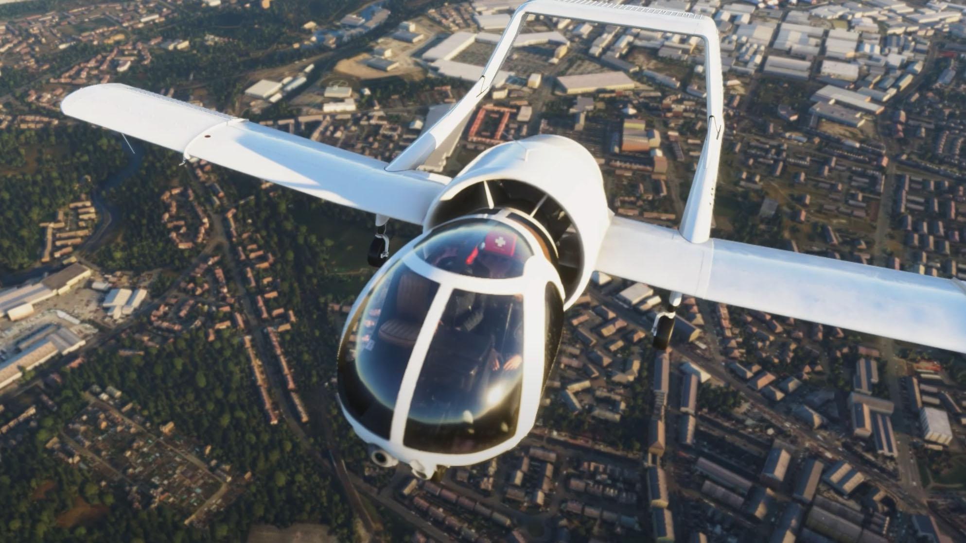 Microsoft Flight Simulator Edgley Optica
