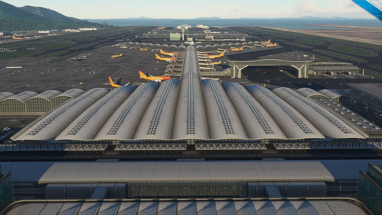 Microsoft Flight Simulator Hong Kong