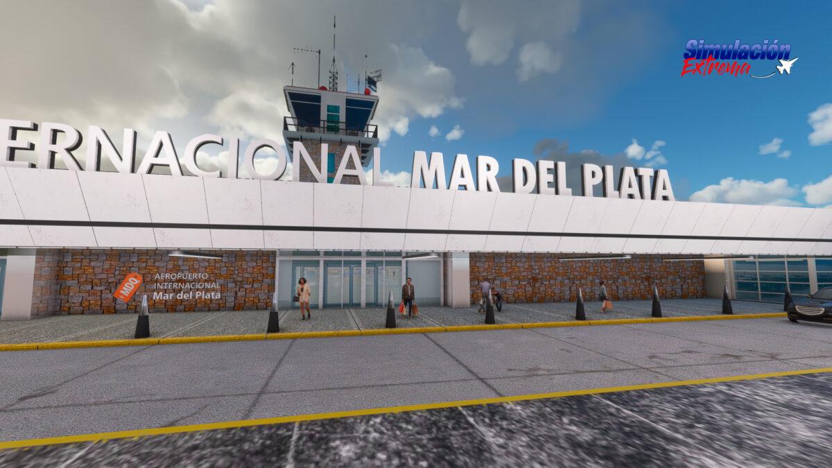 Microsoft Flight Simulator Mar de Plata