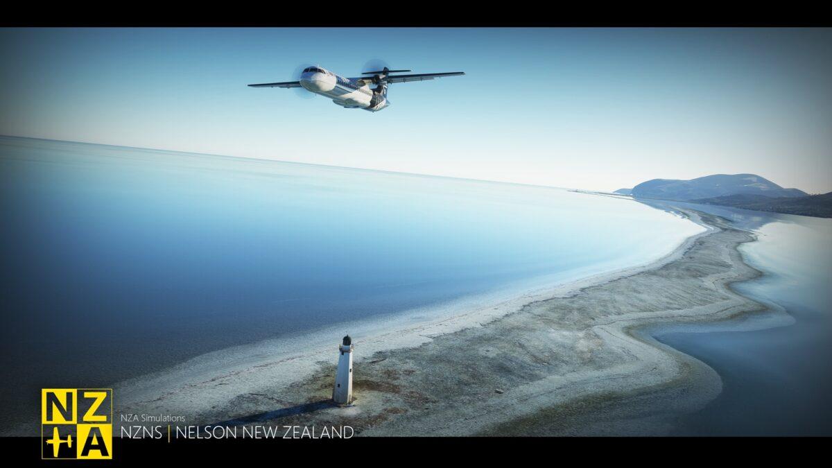 Microsoft Flight Simulator Nelson