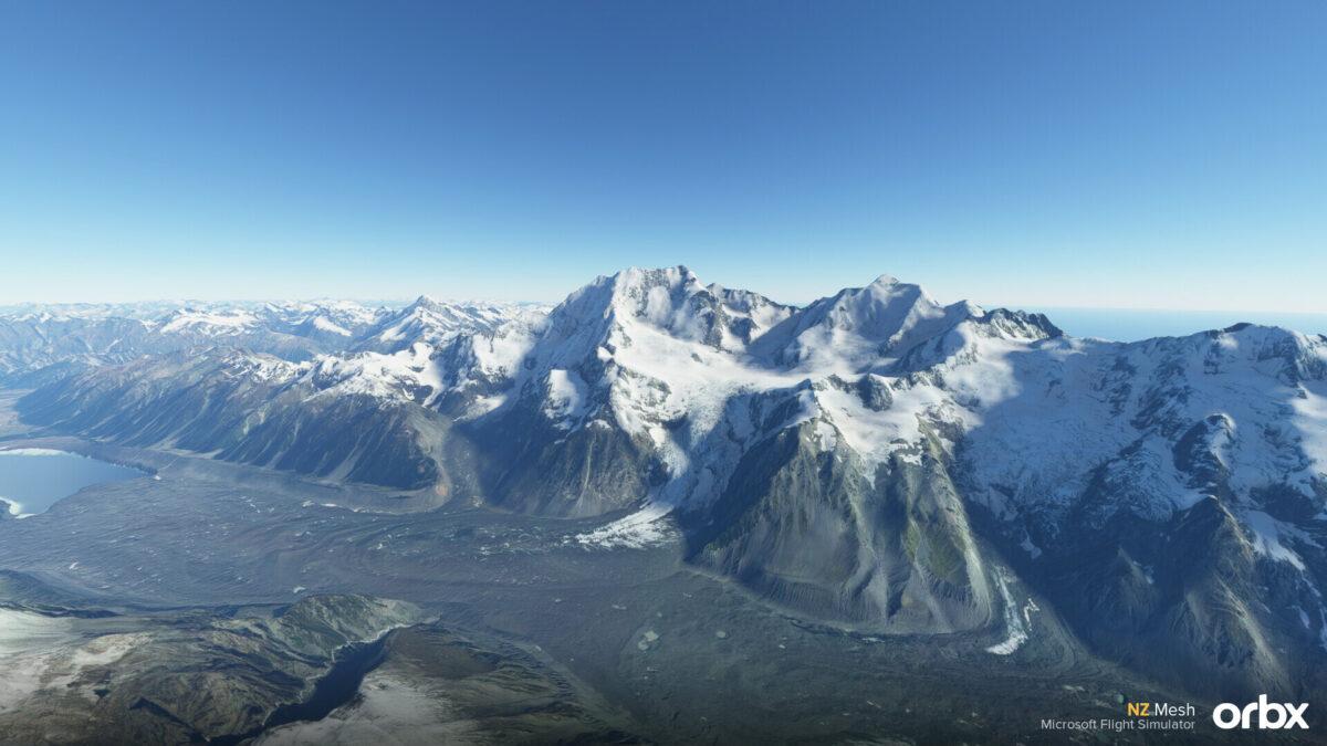 Microsoft Flight Simulator New Zealand Mesh