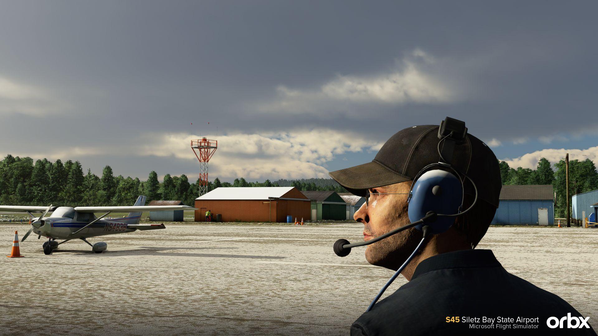Microsoft Flight Simulator Siletz Bay
