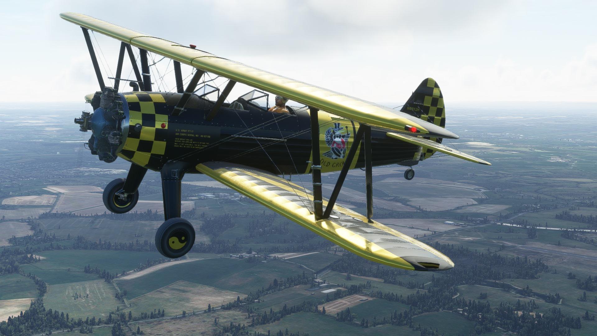Microsoft Flight Simulator Stearman
