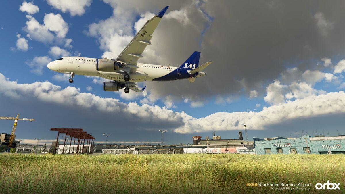 Microsoft Flight Simulator Stockholm