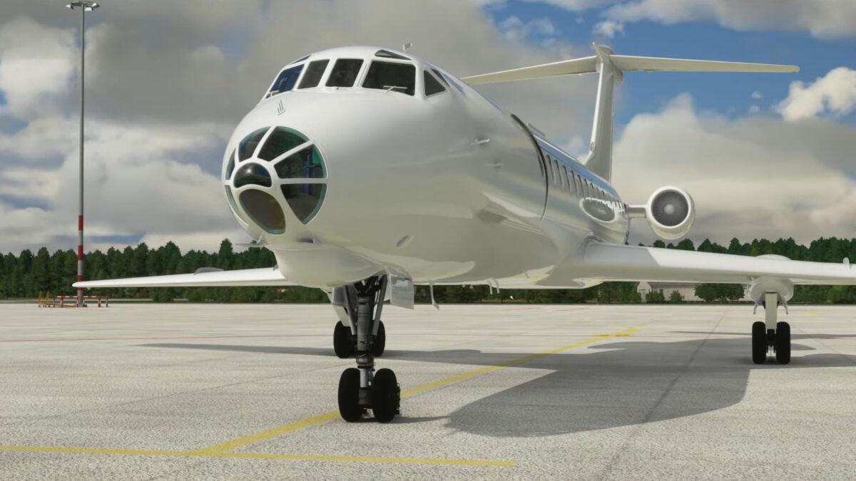 Microsoft Flight Simulator Tupolev