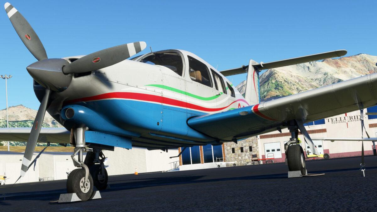 Microsoft Flight Simulator Turbo Arrow