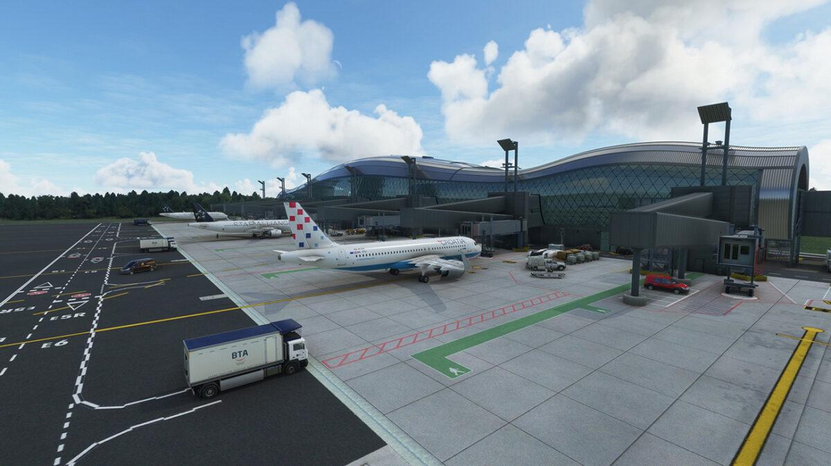 Microsoft Flight Simulator Zagreb
