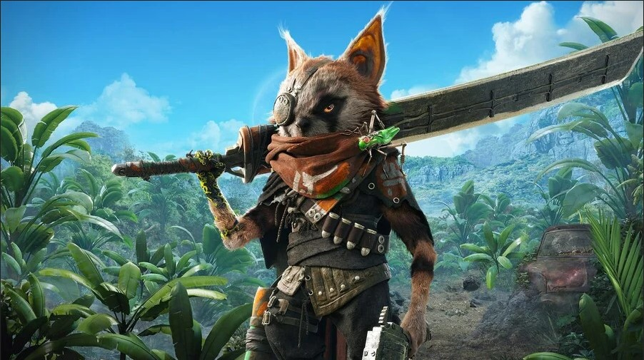 biomutant holster weapons
